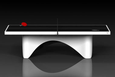 Ellipse White Table Tennis
