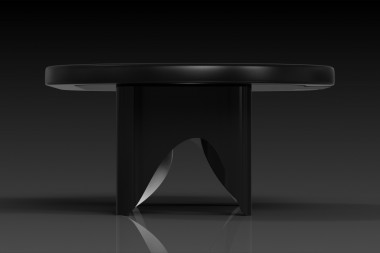 Ellipse Black Poker